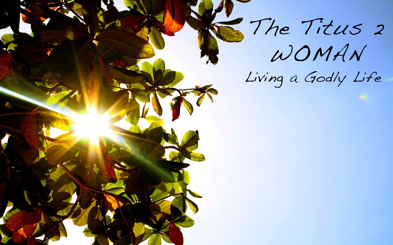 titus single women We mentor titus 2 is a gender-specific model that honors god's order of creation  is practical for single and married women, with children or without.